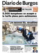 Portada de Diario de Burgos